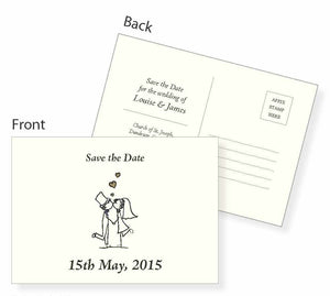 Save the Date Card - Jayceefinecards