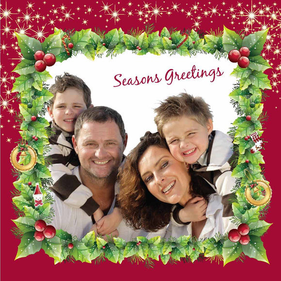 Christmas Card SQ022 photo - Jaycee