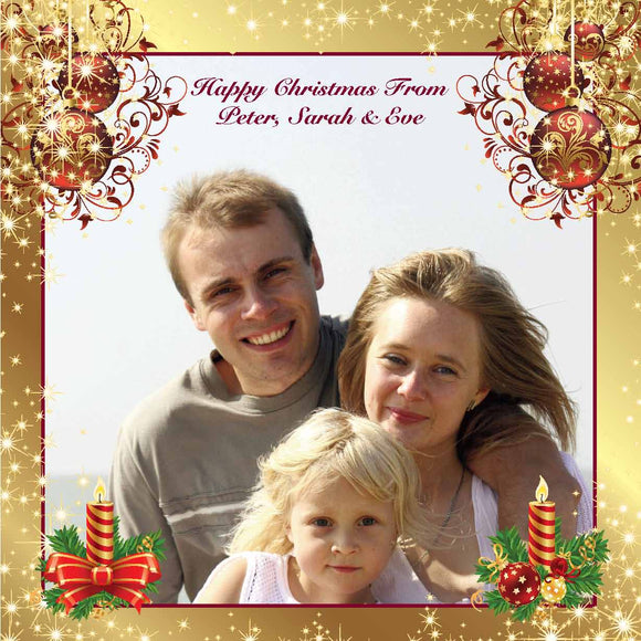 Christmas Card SQ023 photo - Jaycee