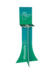 Sanitiser Single Dispenser Stand - Jayceefinecards