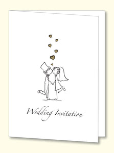 VP2 Wedding Invite (10 pack) - Jayceefinecards