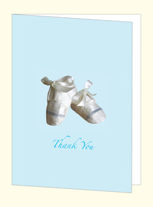 VP6 Baby Card Blue (10 pack) - Jayceefinecards