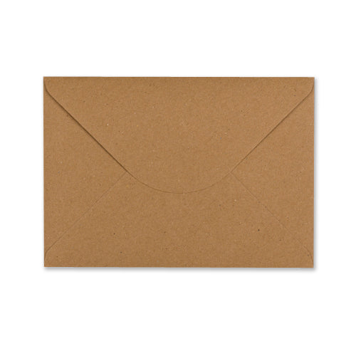 C5 Recycled Kraft Brown Envelope - Jaycee