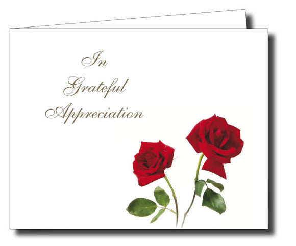 Acknowledgment Card Folded 1455 - Jayceefinecards