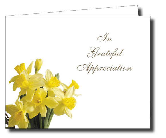 Acknowledgment Card Folded 1456 - Jayceefinecards