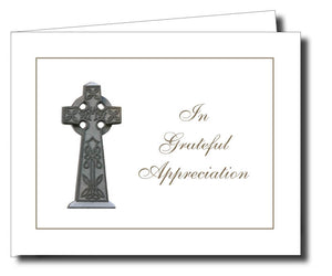 Acknowledgment Card Folded 1458 - Jayceefinecards