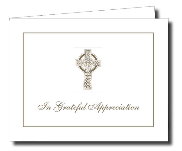 Acknowledgment Card Folded 1459 - Jayceefinecards