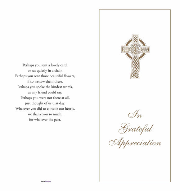 Acknowledgment Cover 1509 - Jayceefinecards