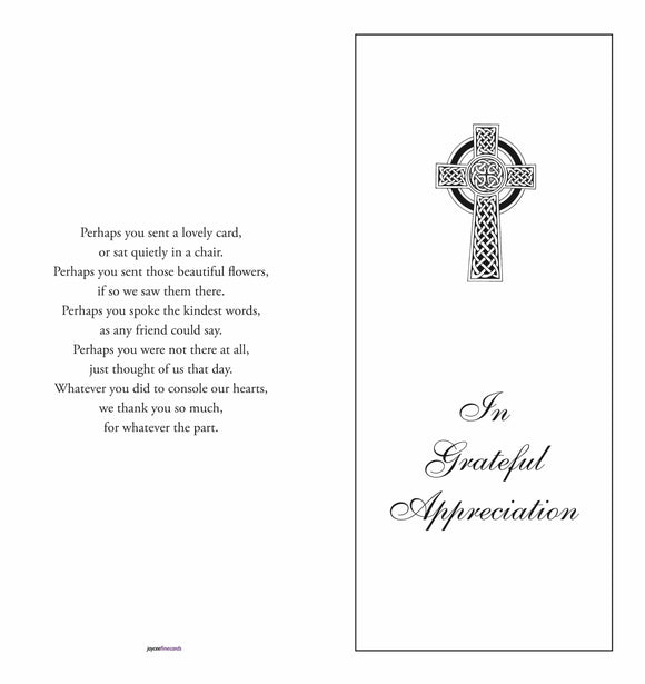 Acknowledgment Cover 1510 - Jayceefinecards