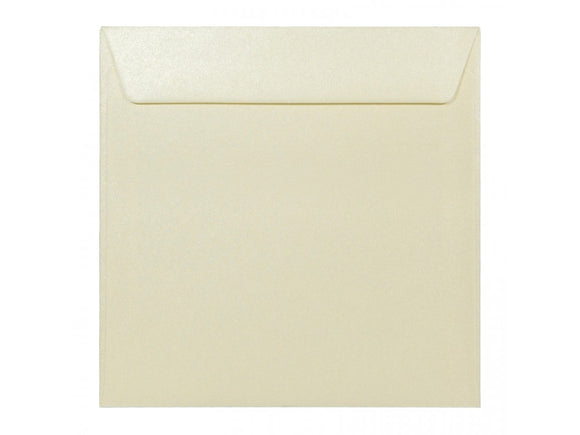 Square 170mm Pearl Cream Envelope - Jaycee