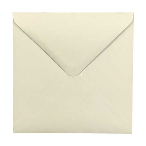 Square 155mm Classic Cream Envelope - Jaycee