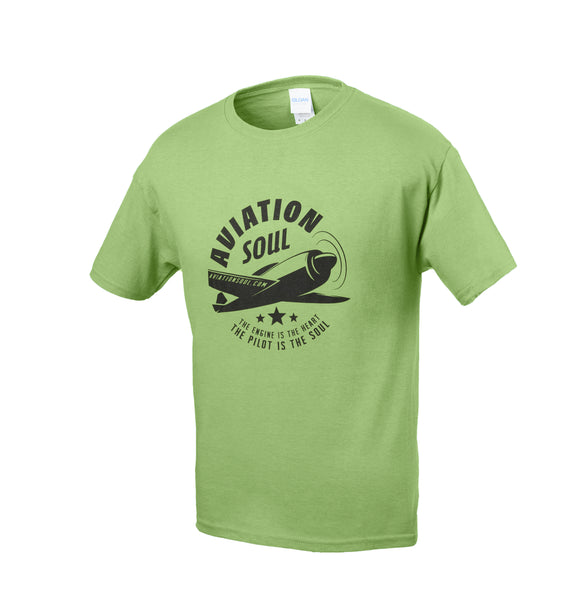 Aviation Soul Airplane T-Shirt