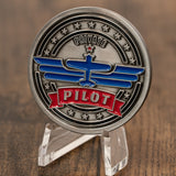Private Pilot Aviator Challenge Coin