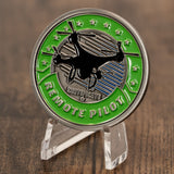 Remote Pilot Aviator Challenge Coin
