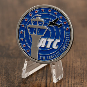 Air Traffic Controller Aviator Challenge Coin