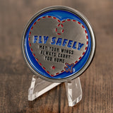 Fly Safely Aviator Challenge Coin