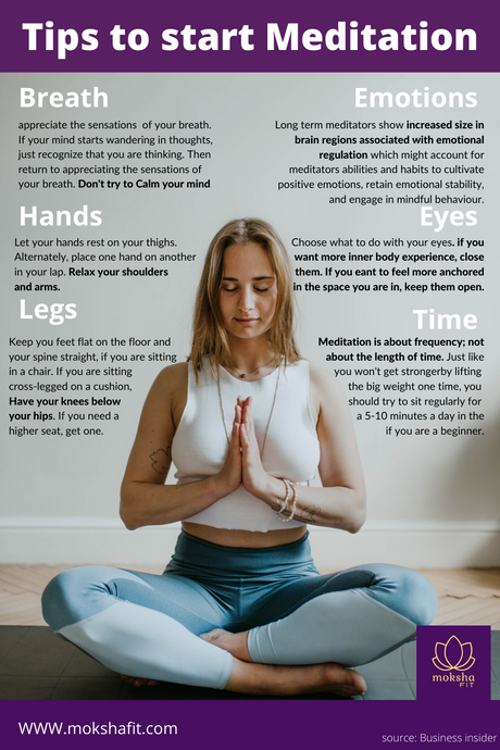 How to start meditating? A guide for beginners in meditation.