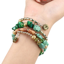 Load image into Gallery viewer, green yogi bracelet