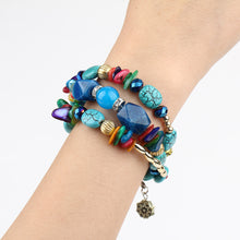 Load image into Gallery viewer, blue bracelet yogi