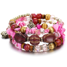 Load image into Gallery viewer, pink yoga bracelet