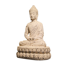 Load image into Gallery viewer, Shakyamuni Buddha Decorative Statue - Hand Painted Sculpture with antique Look Buddha Figurine