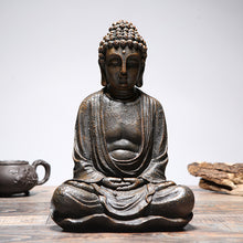 Load image into Gallery viewer, Meditating buddha statue garden