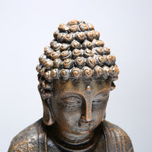 Load image into Gallery viewer, Meditating buddha statue resin