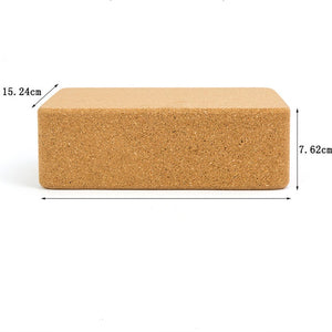 Premium High Density Cork Yoga Blocks set of 2