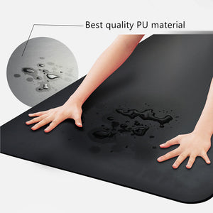 Eco Friendly Yoga Mat with Body Alignment System