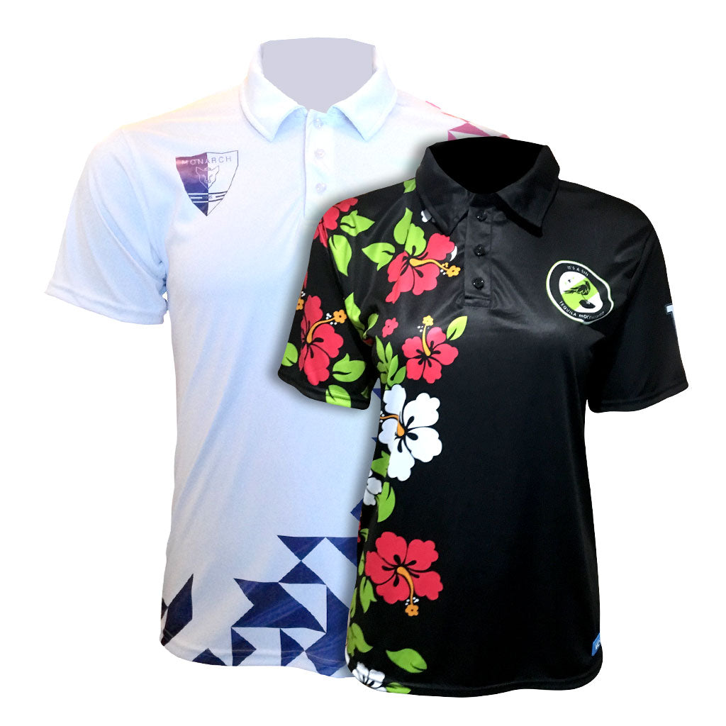 VC Sublimated Executive Polo