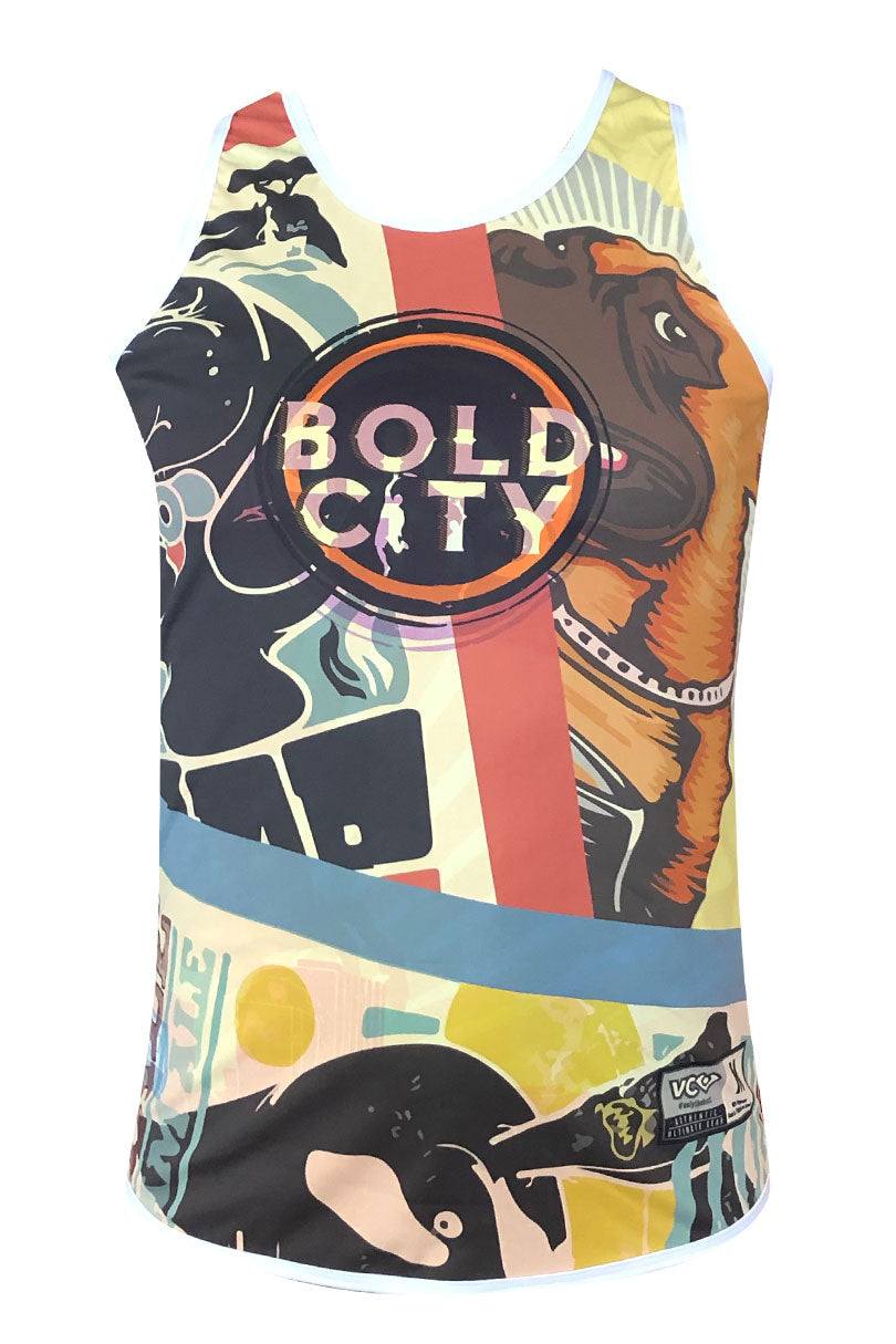 Bold City Reversible Tank Dark Front