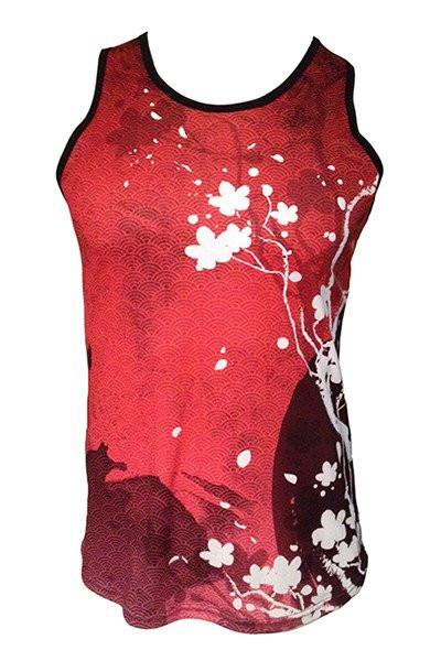 Cherry Blossom Red Reversible