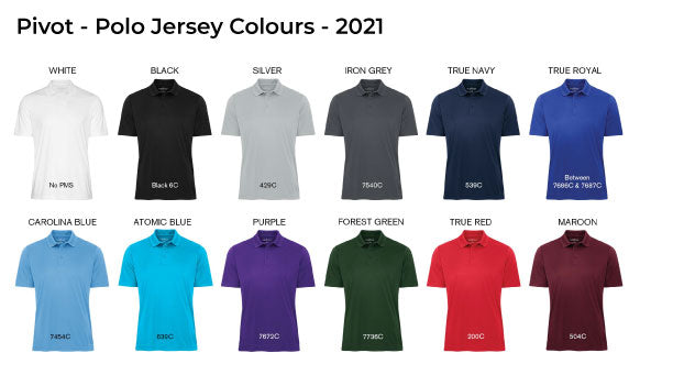 Polo Jersey Colours