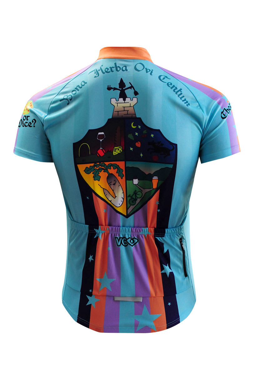 Coolmax Pro Cycling Jersey Back
