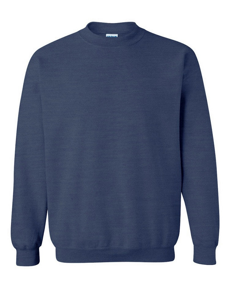 Heather Navy Crewneck
