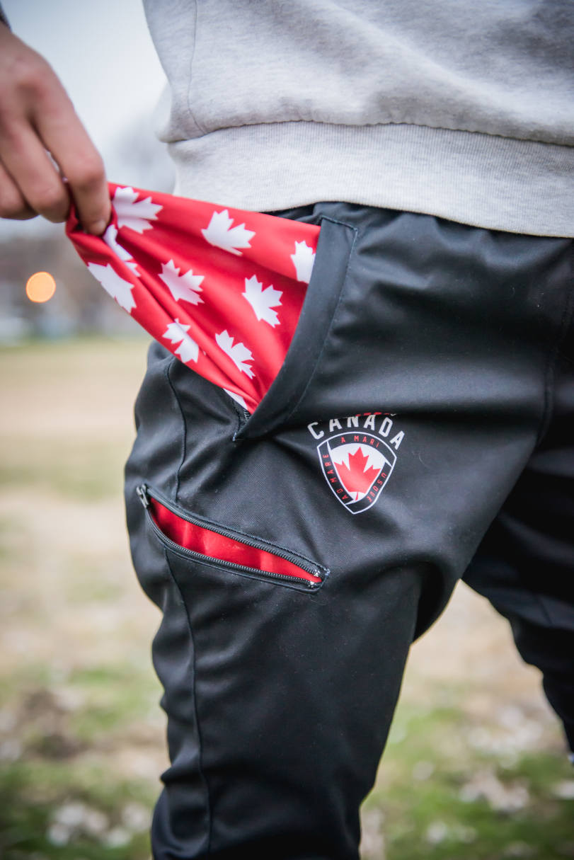 Team Canada Training Pants - detail