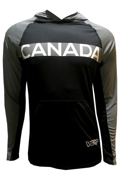 Canada Grey Revolution Hoodie - front