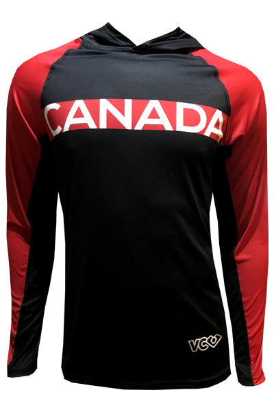 Canada Red Revolution Hoodie - front