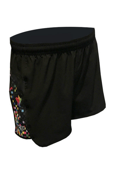 Pixel Shorty Shorts - front