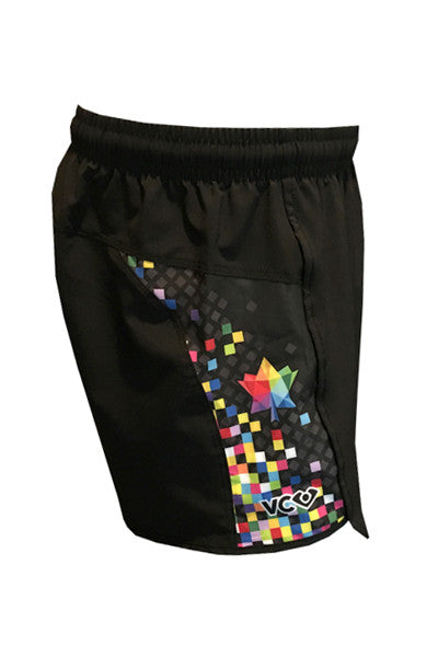 Pixel Shorty Shorts - side
