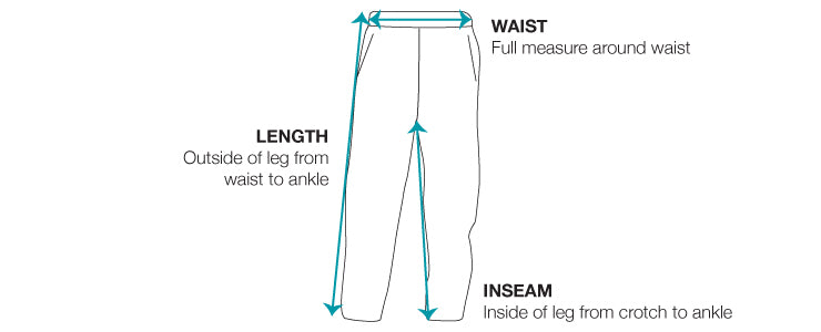 Training Pants Size