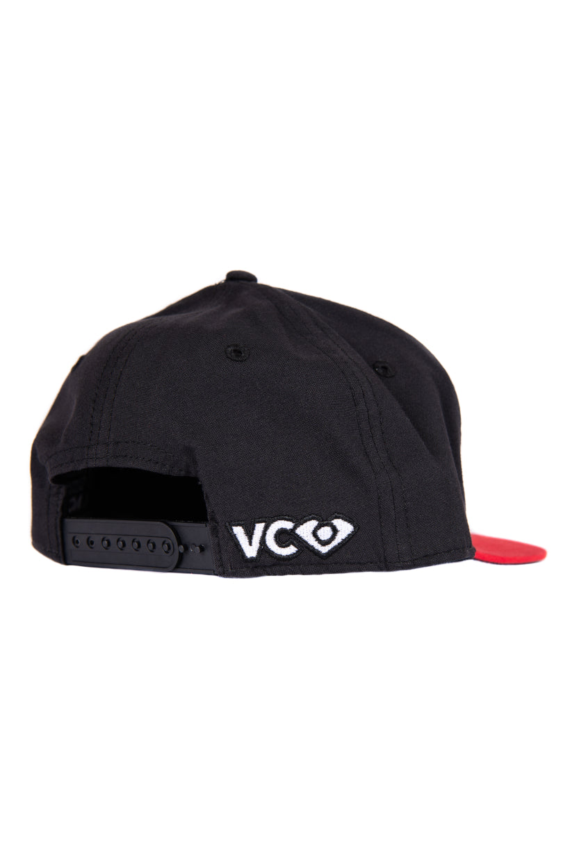 Red/Black Snapback- back