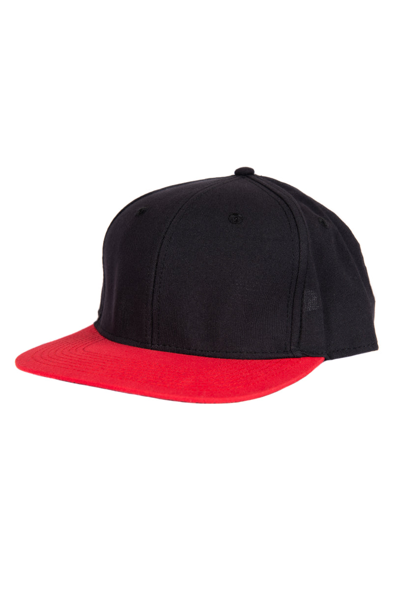 Red/Black Snapback- front