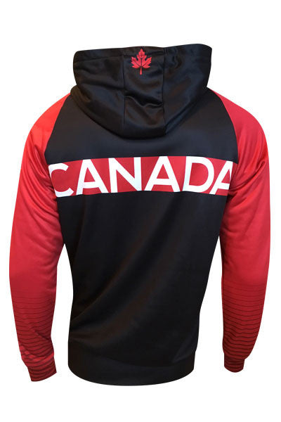 Team Canada Hoodie - red back