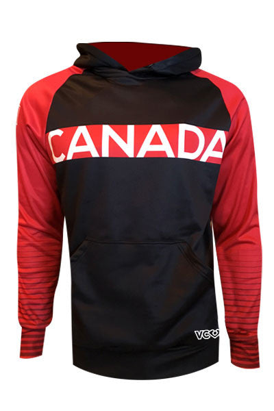 Team Canada Hoodie - red front