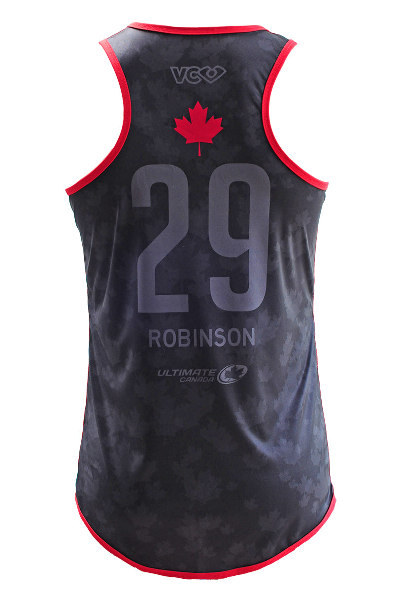 Team Canada Tank Dark Back
