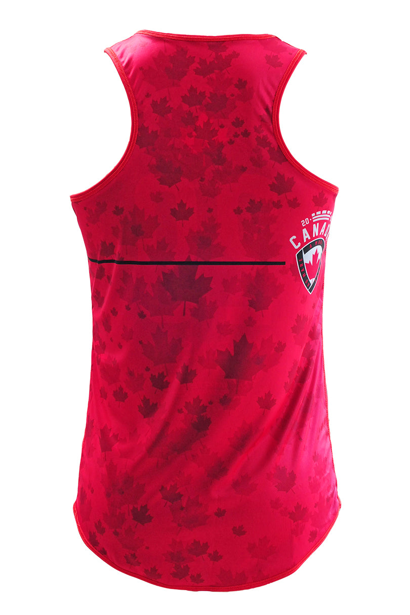 Team Canada Tank Light Back