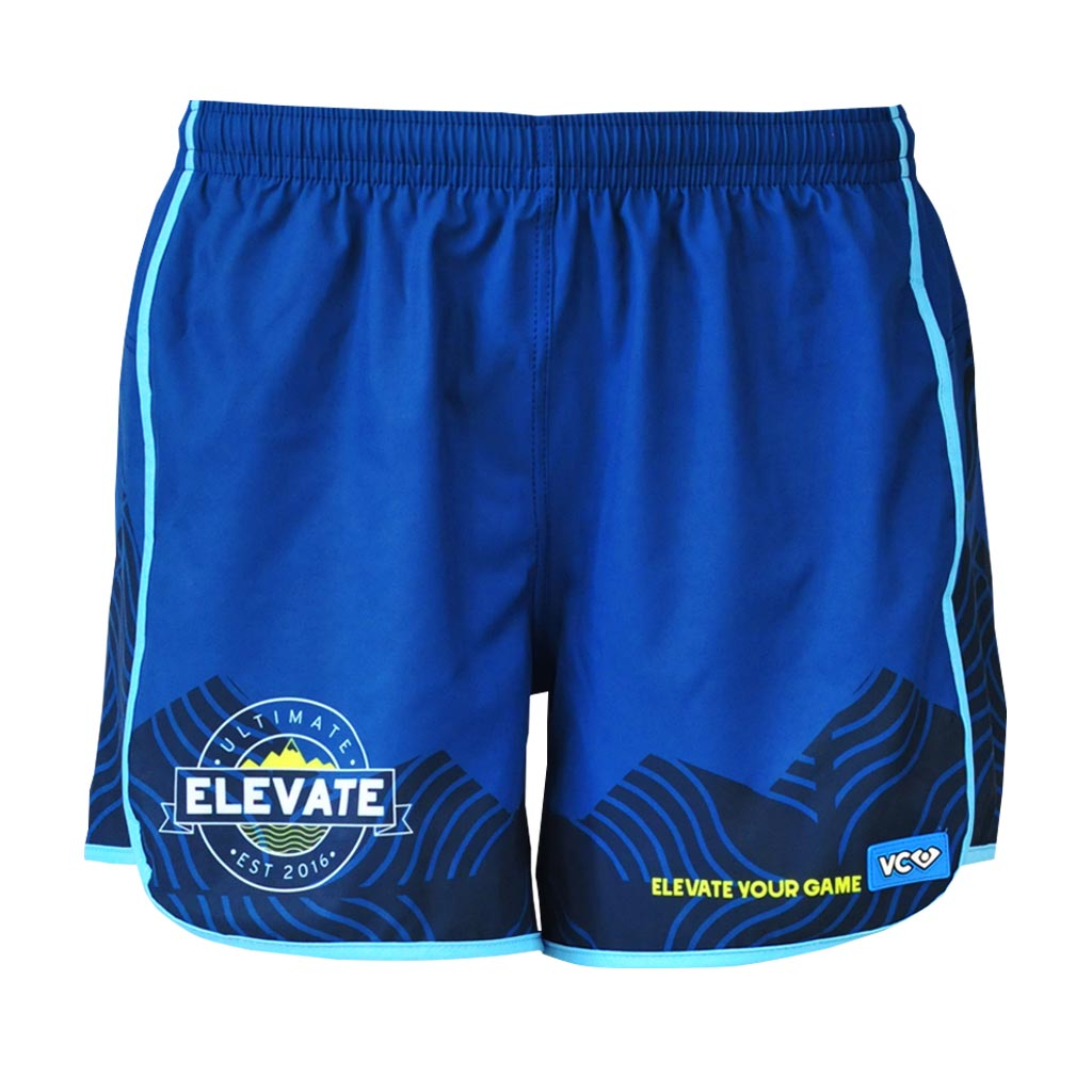 Elevate Shorty Shorts - front