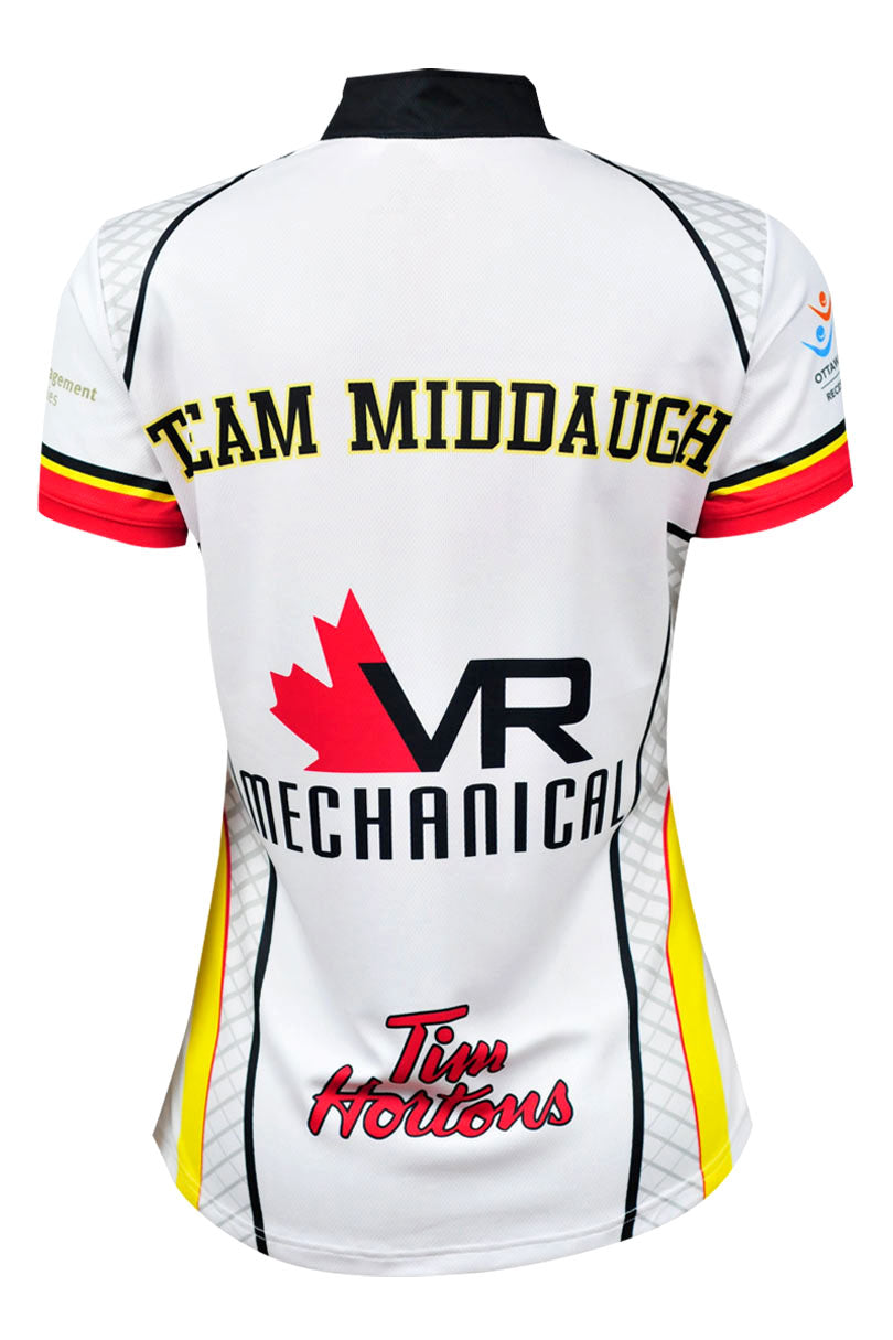 Middaugh Curling Jersey White Back