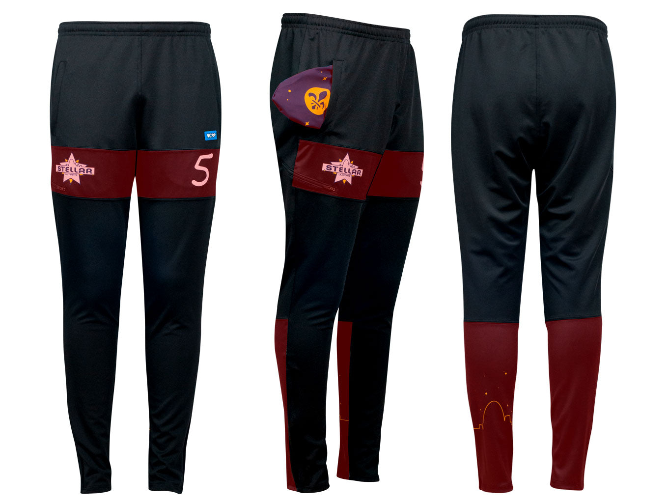 VC Training Pants sublimated areas